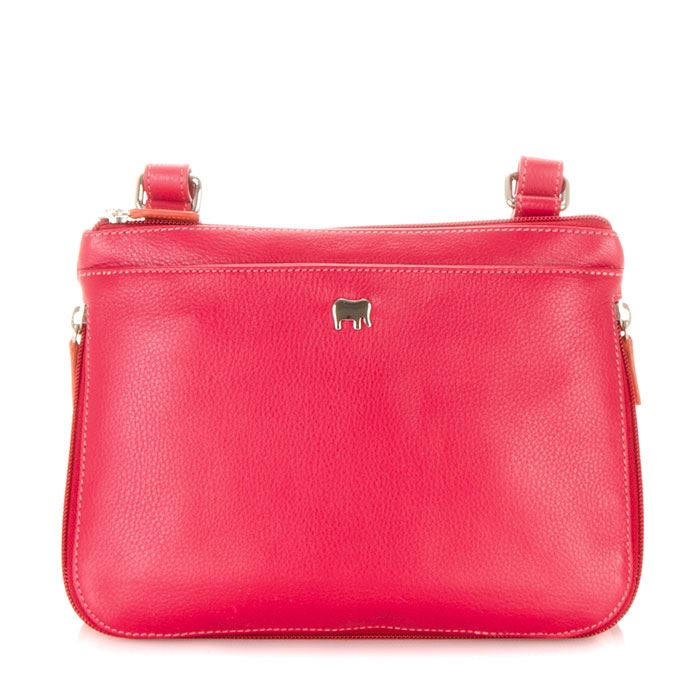 Copenhagen Range - Leather Zip Around Crossbody Bag 1890 - MyWalit - Candy