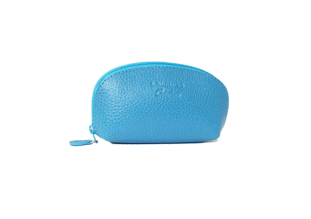Spacious Small Change Leather Purse by Laurige - Various Colours