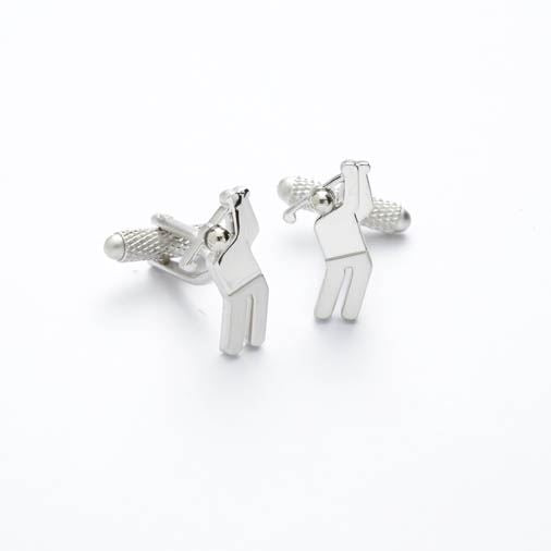 Novelty Cufflinks - Golfer - CK182 - Onyx Art