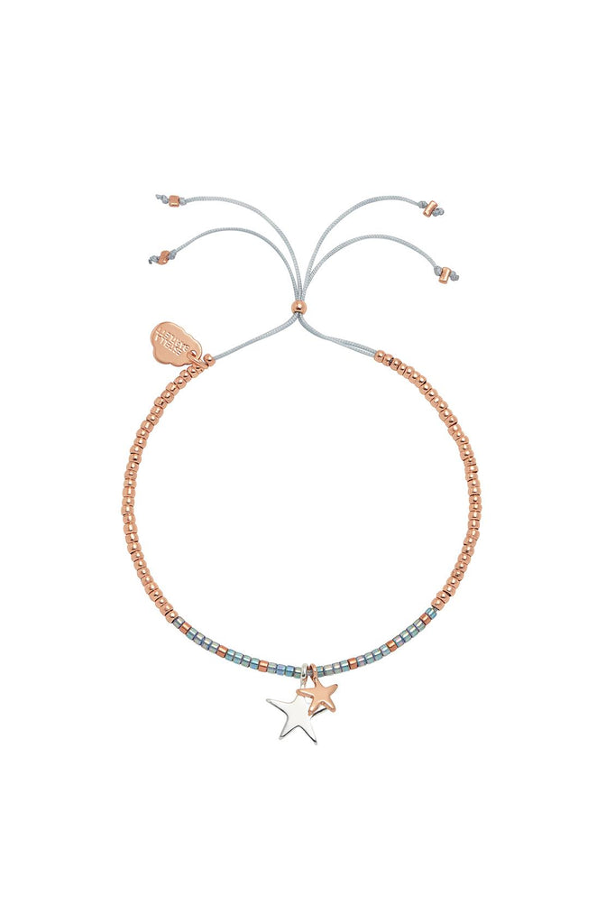 Double Star Liberty Louise Bracelet - Rose Gold & Silver Plated - Treasure Me - Estella Bartlett