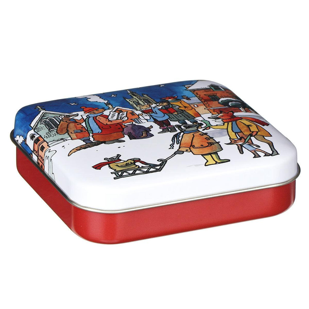 Emma Bridgewater - Hinged Trinket/Treat Tin - Sold Individually - Winter Scenes