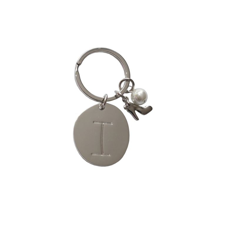 Bombay Duck - Lucky Charm Alphabet Keyring - A to Z