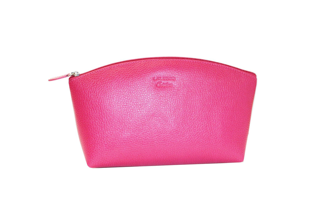 Ladies Leather Toiletries/Vanity/Wash/Travel Bag by Laurige - Various Colours
