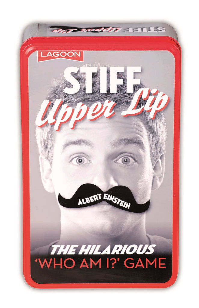 Stiff Upper Lip - 'Who Am I?' - Classic Game In A Tin - Lagoon Group
