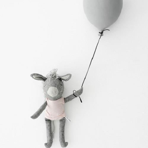 Olive The Donkey - 35 cm Softie - and the little dog laughed