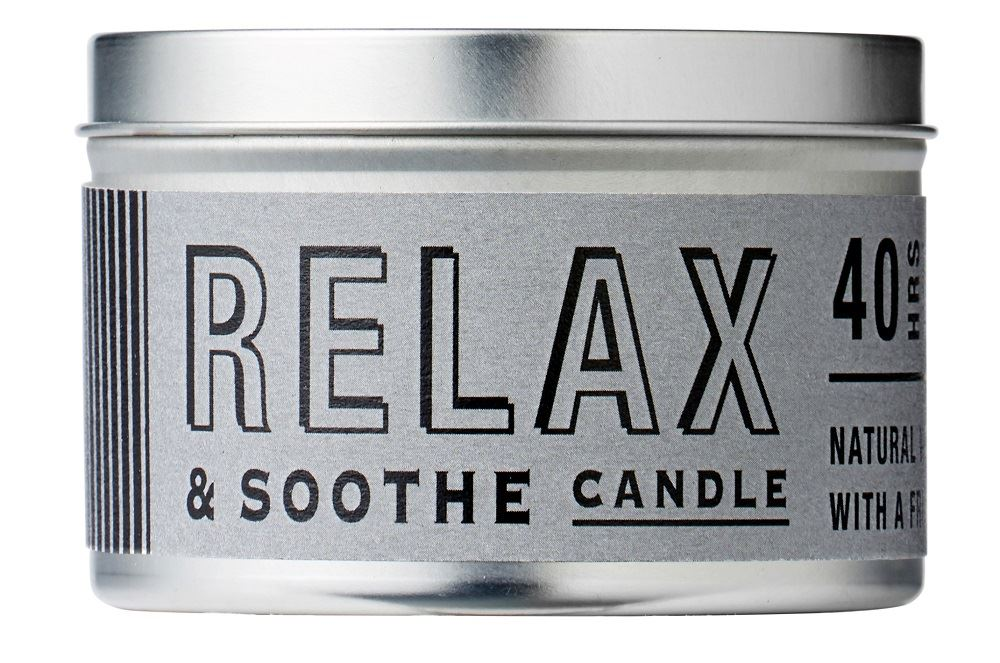 Bath House - Men's Citrus Collection - Natural Wax Candle 200g/40hrs - Relax & Soothe
