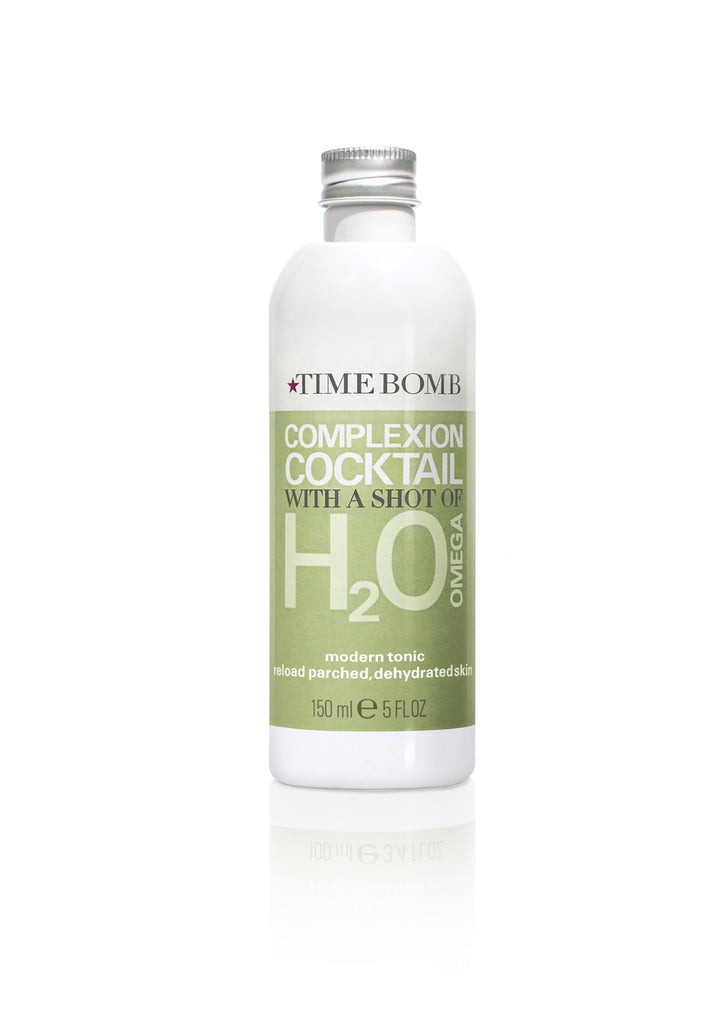 TIME BOMB Complexion Cocktail With a Shot of H2Omega 150ml - Reload Parched, Dehydrated Skin