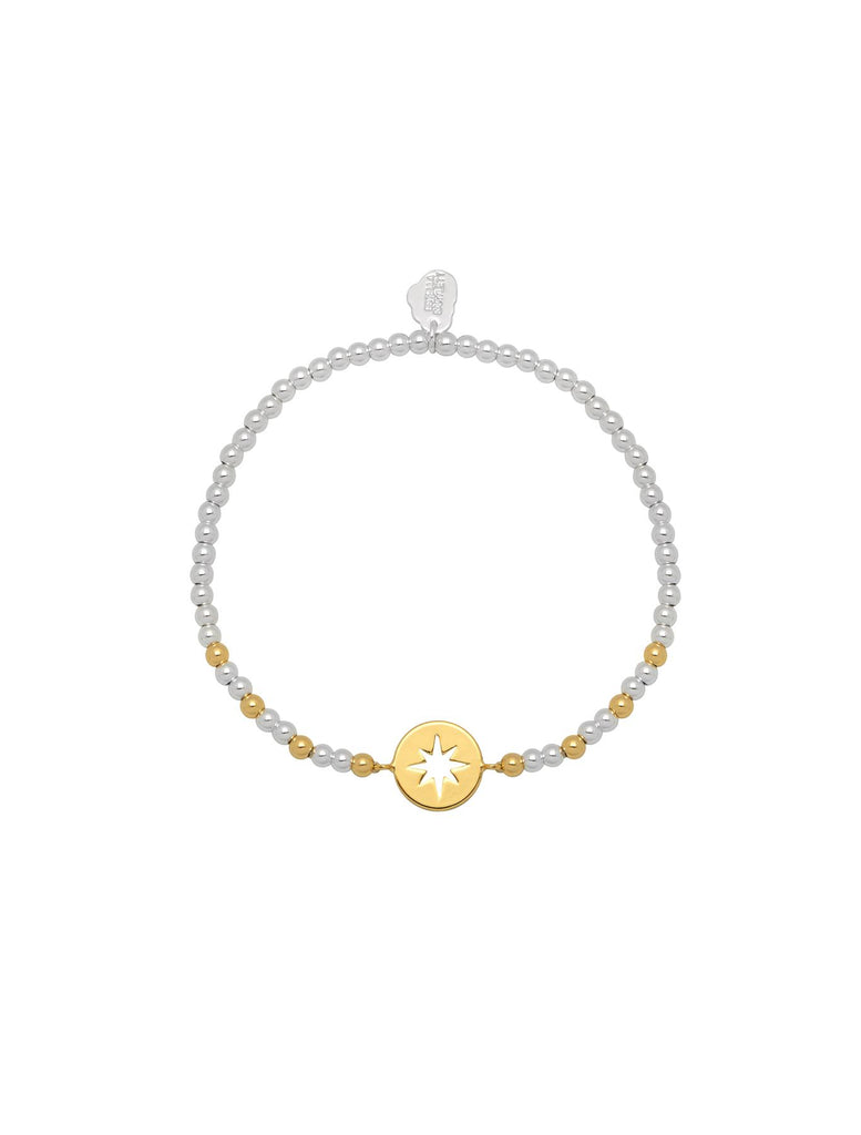 Starburst Sienna Bracelet - Gold & Silver Plated - Stars So Bright - Estella Bartlett