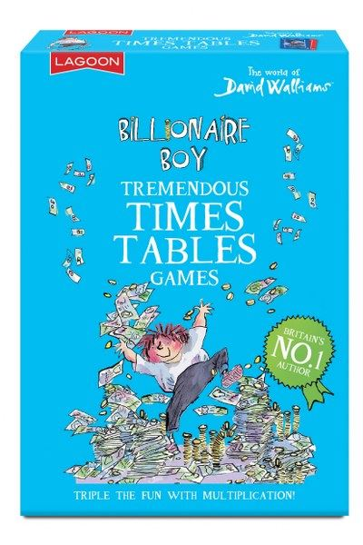 David Walliams - Billionaire Boy - Tremendous Times Tables Games - Lagoon Group