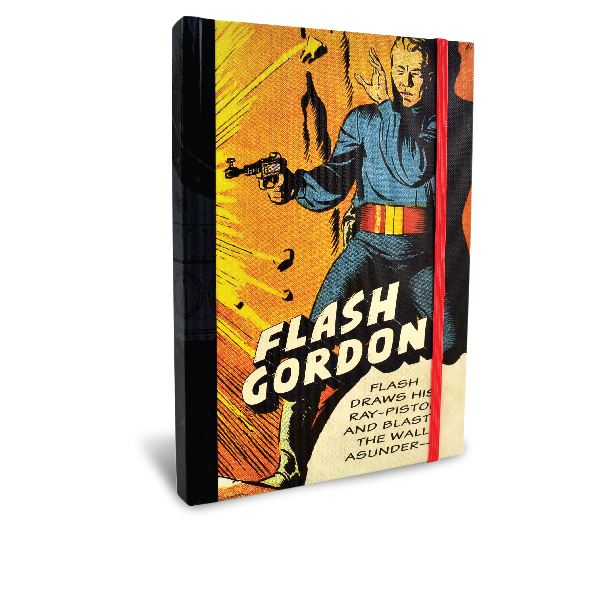 Flash Gordon Chunky Hardback A5 Journal - 100 Lined Pages - Portico Designs