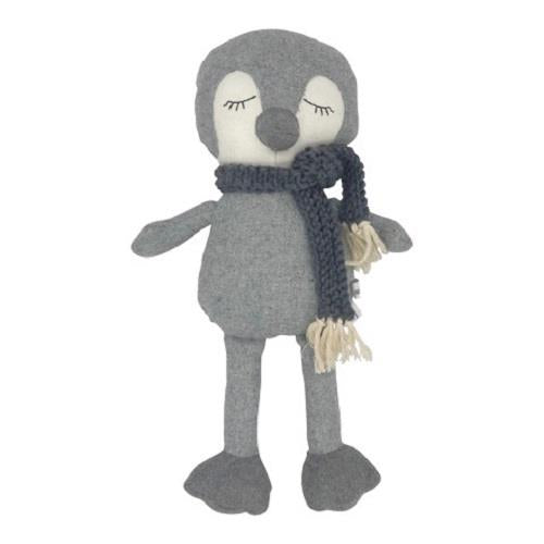 Stanley The Penguin - 40 cm Softie - and the little dog laughed