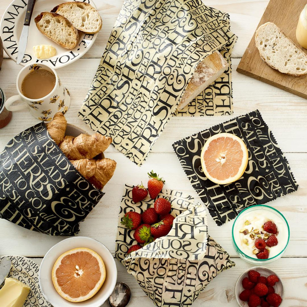 The Beeswax Wrap Company - Emma Bridgewater Toast & Marmalade - 4 Combinations Available