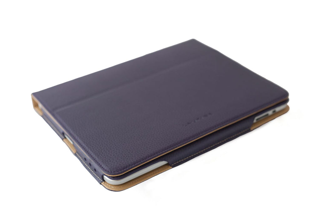 Leather iPad Case/Cover by Laurige - Various Colours - For Use with iPad 1 & 2