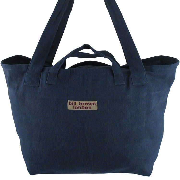 Bill Brown Bags - Mango - Weekend Bag/Cabin Luggage - Navy Blue 60x39x18cms