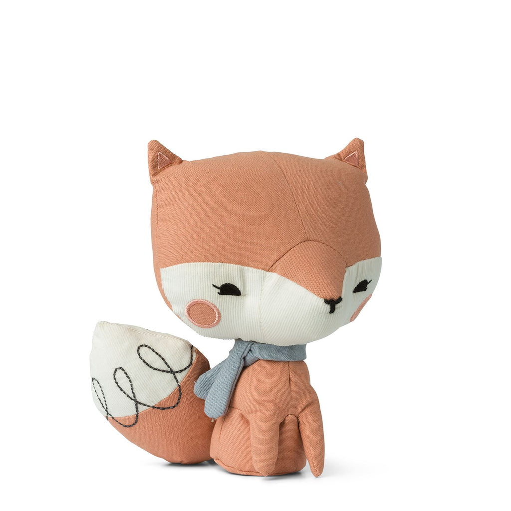 Picca Loulou - Bon Ton Toys - The Fox - Pink - 18cms - Gift Boxed - Suitable From Birth