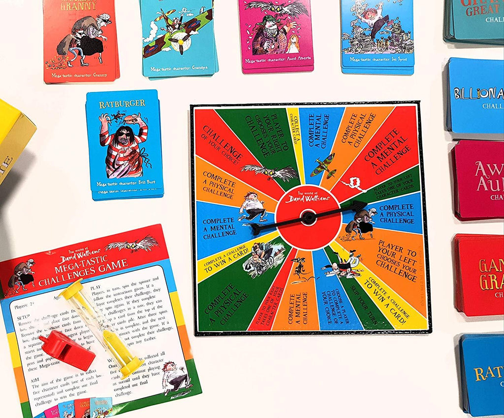 The World of David Walliams - Mega-tastic Challenges Game - Lagoon Group
