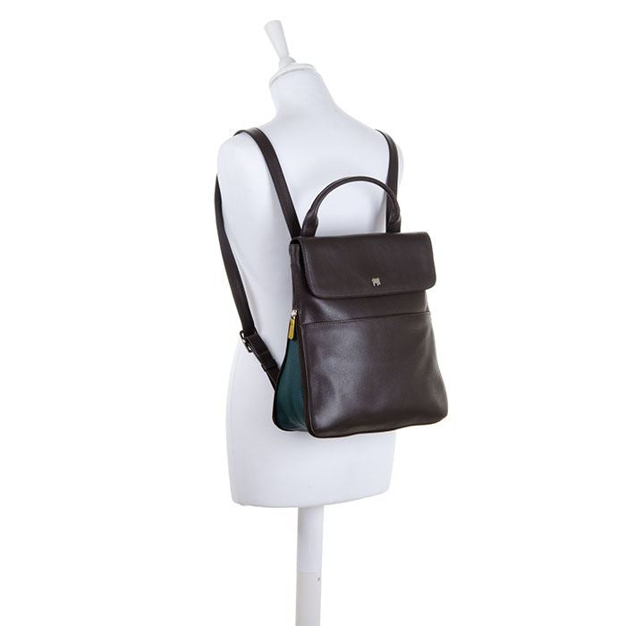 Copenhagen Range - Leather Backpack Bag 1893 - MyWalit - Brown/Evergreen