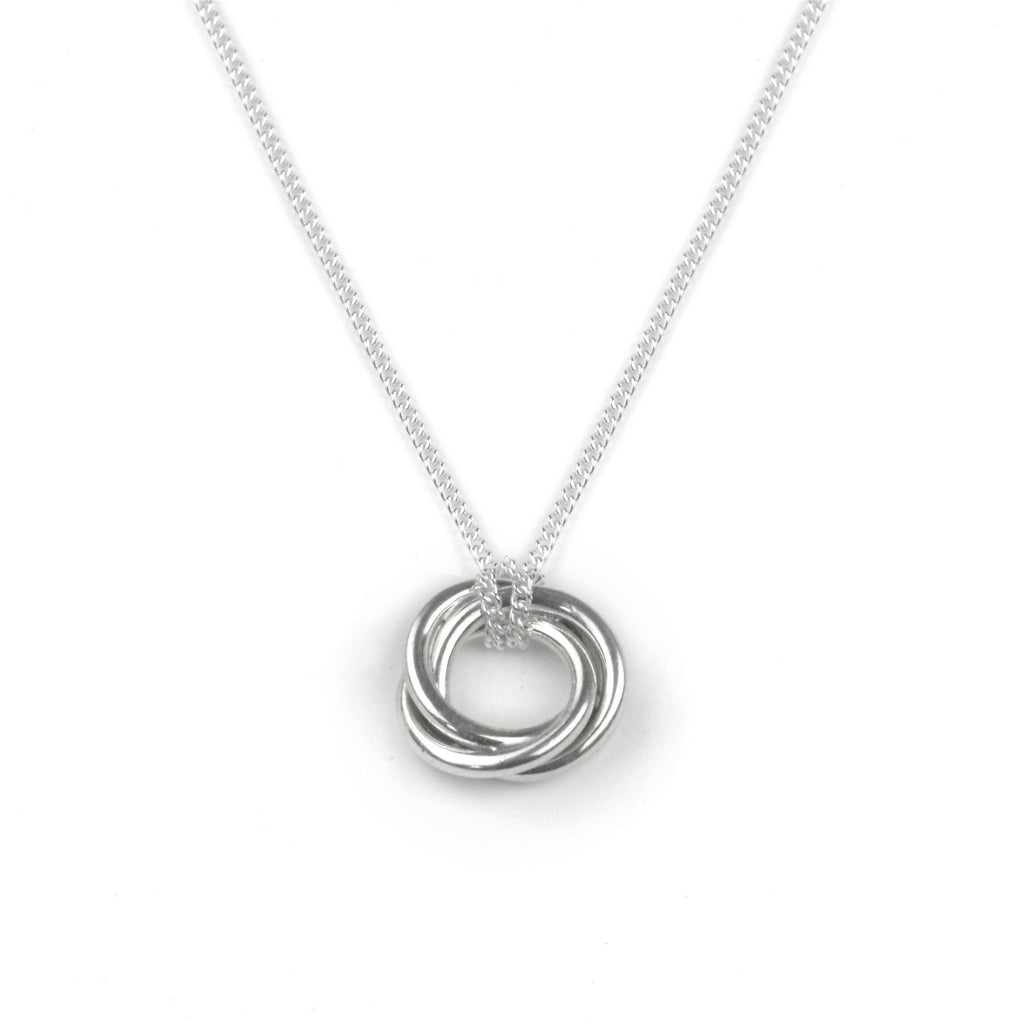 Sterling Silver - Bonds Of Friendship Necklace - Tales From The Earth