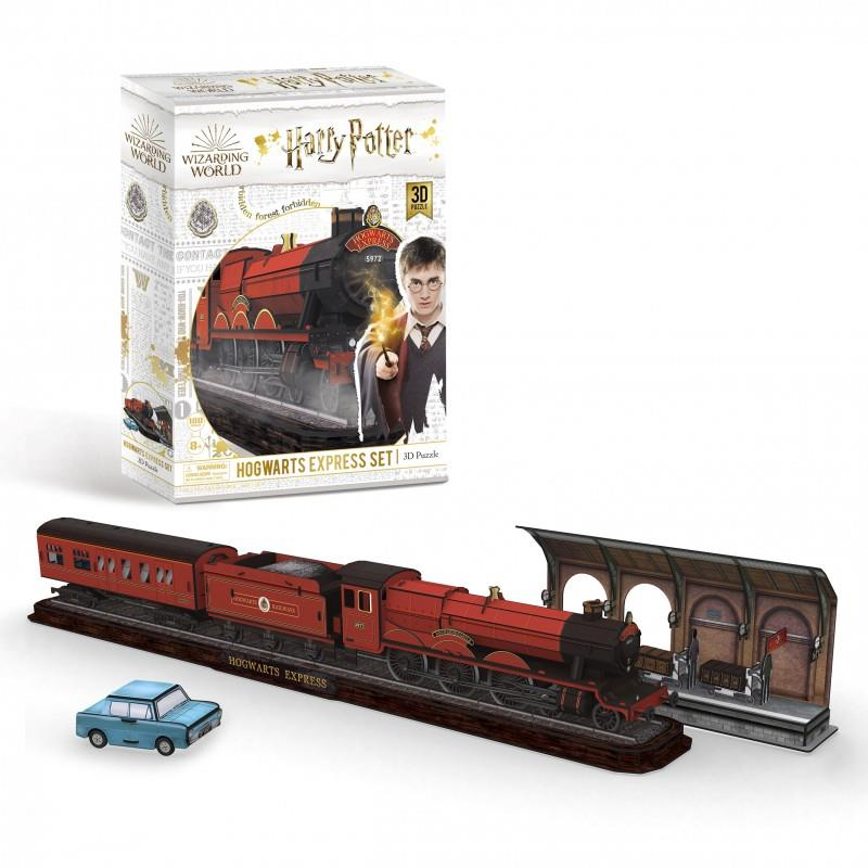 Harry Potter's Wizarding World - 3D Jigsaw Puzzles - Hogwarts Express Set