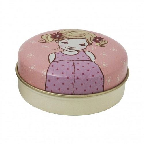 Belle & Boo - Small Round Trinket/Treat Tin - Perfect Stocking Filler - Ava