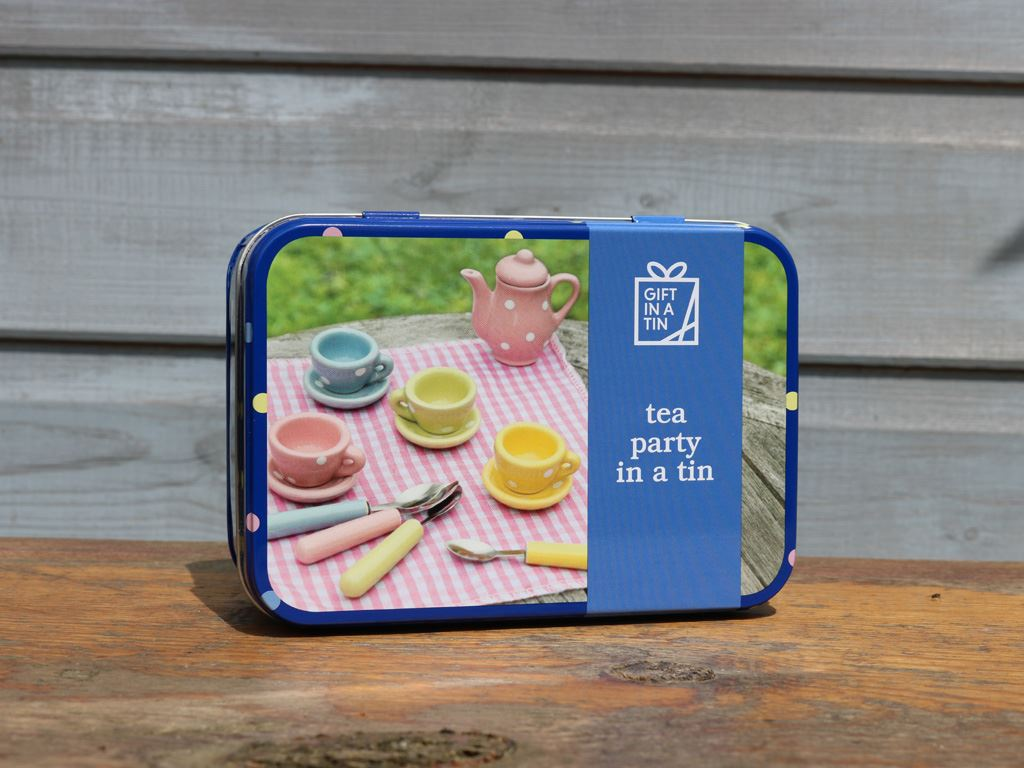 Apples To Pears - Learn & Play - Gift In A Tin - Tea Party In A Tin