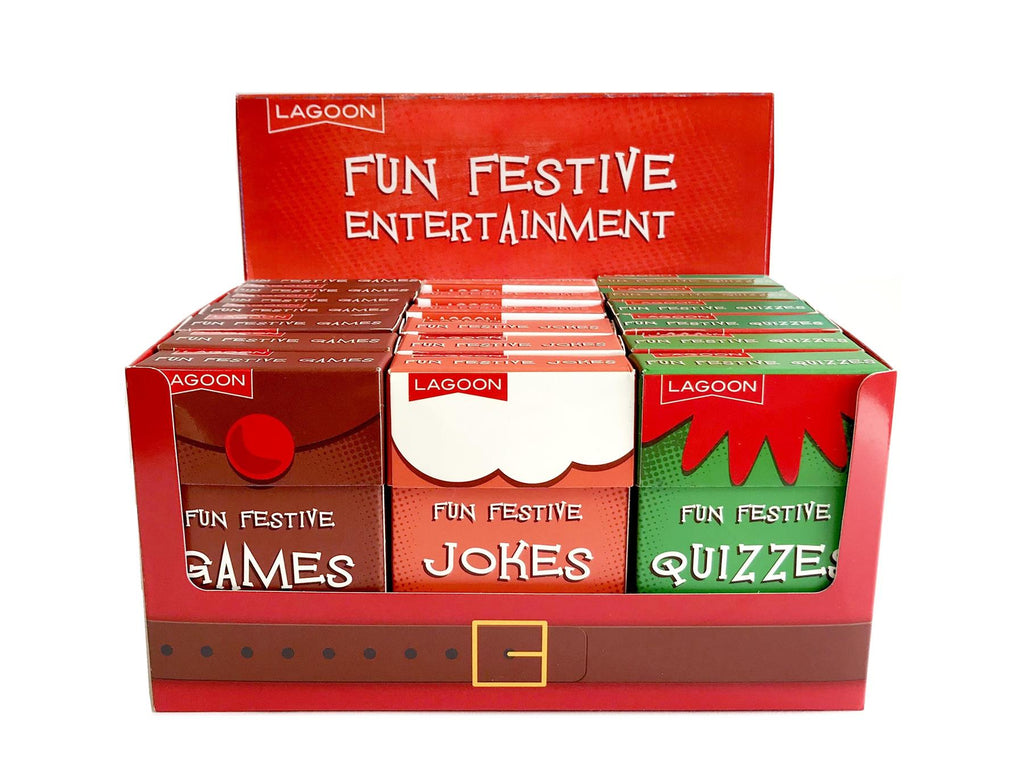 Lagoon - Classic Fun Festive Entertainment - Sold Individually or Set of 3