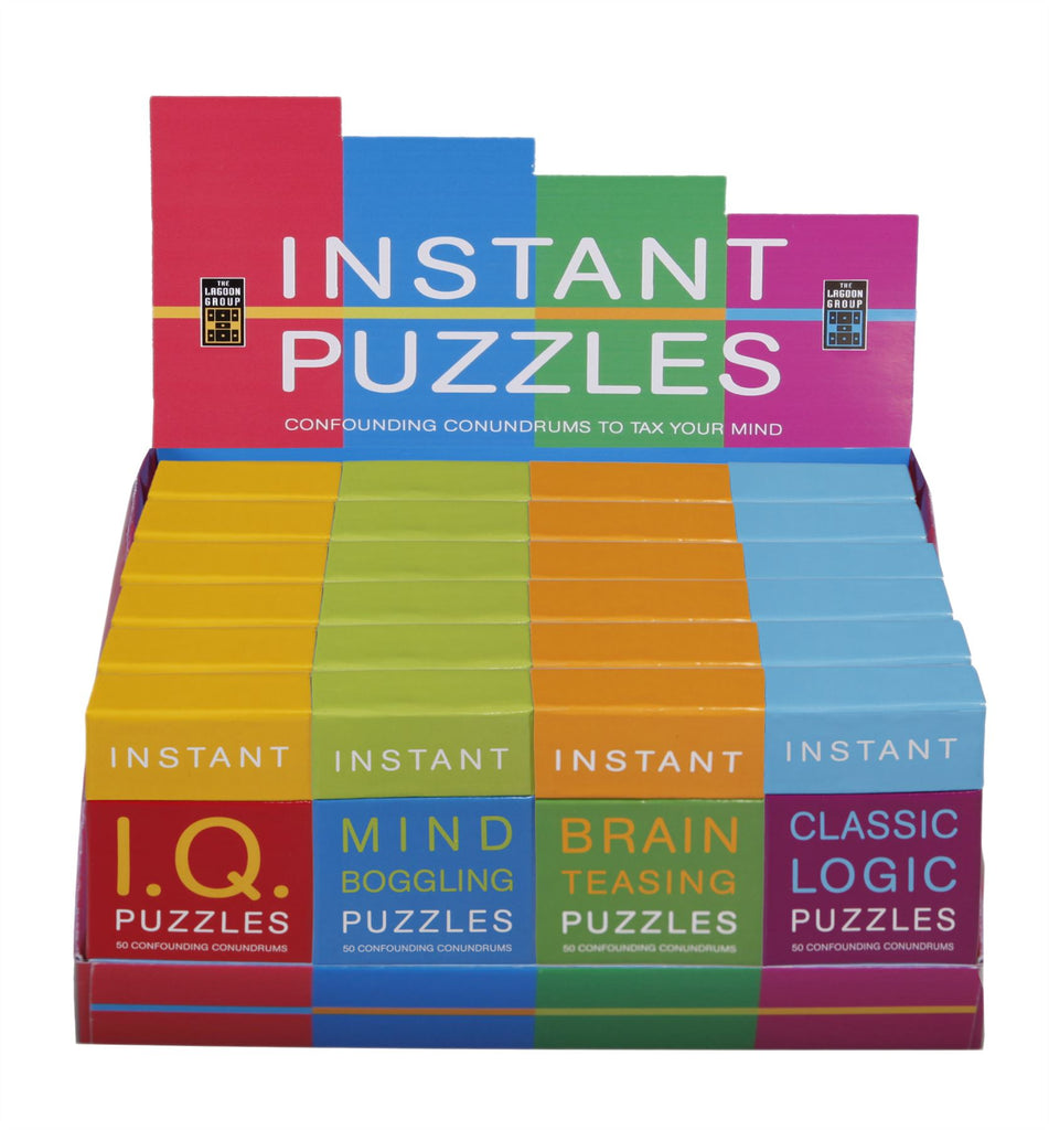 Instant Puzzles - 50 Confounding Conundrums - Mind Boggling Puzzles