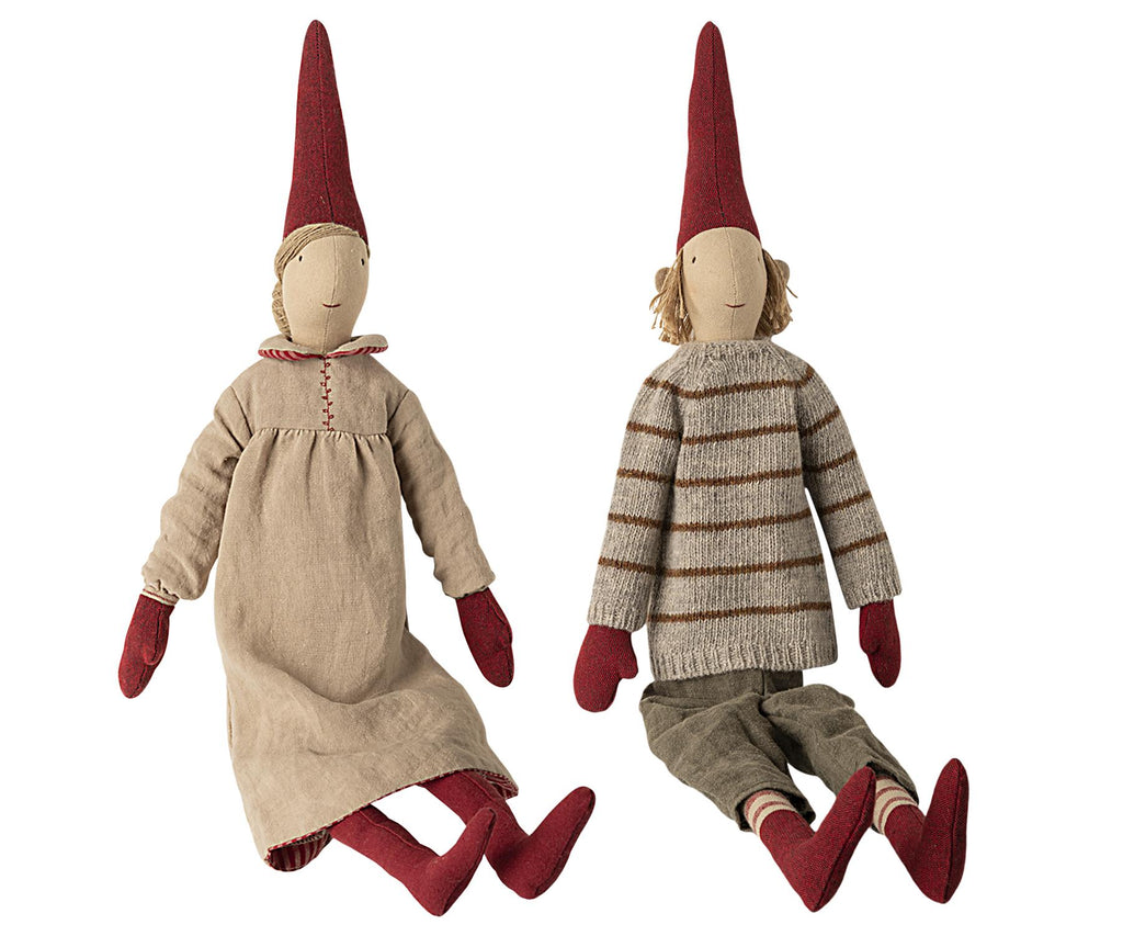 Maileg - Danish Nisse Pixy 2020 (0440) - Maxi 65cms - Available in Boy or Girl