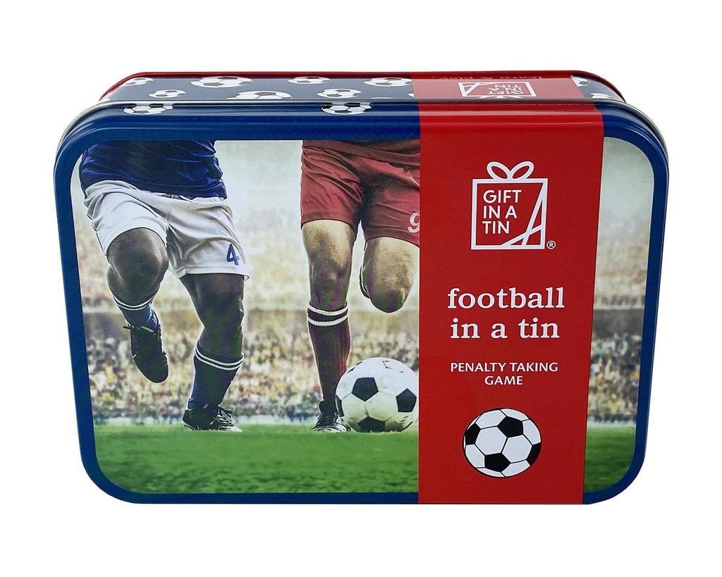 Apples To Pears - Learn & Play - Gift In A Tin - Football In A Tin/Penalty Taking Game