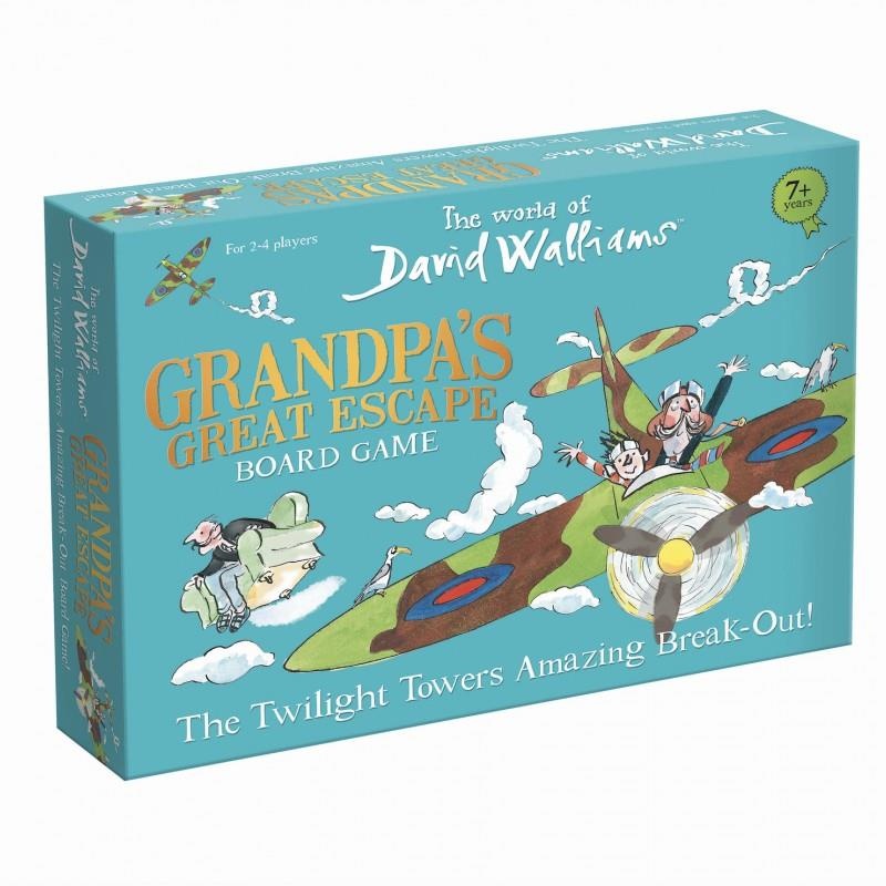 David Walliams - Grandpa's Great Escape - The Twilight Towers Amazing Break-Out! Board Game