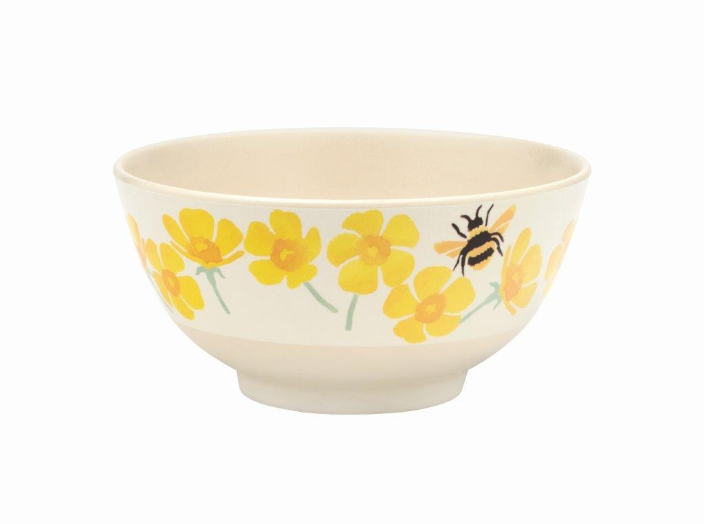Emma Bridgewater - Buttercups & Bees Bamboo Melamine - Available in Plates, Bowls or Beakers