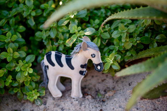 ST-EDT/011 Zebra Shaped Eco Dog Toy