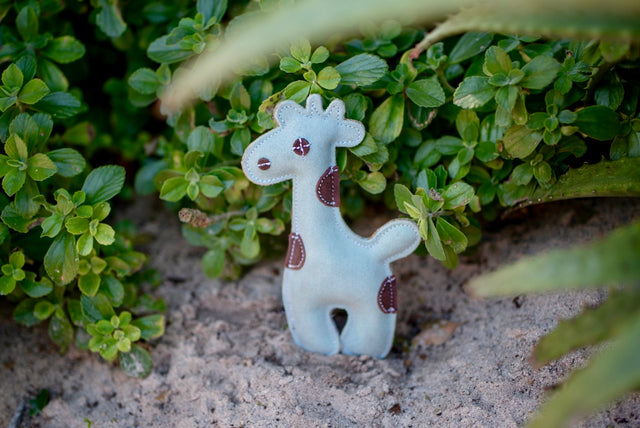 ST-EDT/010 Giraffe Shaped Eco Dog Toy