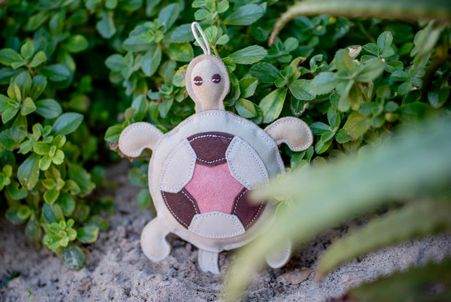 ST-EDT/009 Turtle Shaped Eco Dog Toy