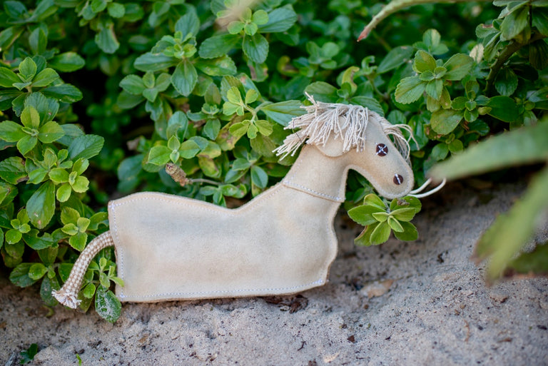 ST-EDT/004 Horse Shaped Eco Dog Toy