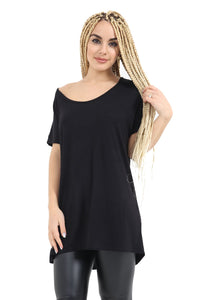 Oversized and Sleeveless Batwing top for Women