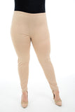 Women Faux Leather Leggings Sexy Shiny Wetlook Nude Legging