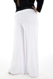 women plus size wide leg palazzo trouser