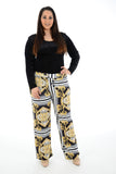 Women Plus size Palazzo Trouser Pants