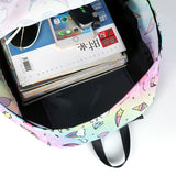 Unicorn Small Cute For Teenage Girls Backpack