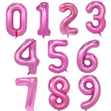 Giant Number Foil Balloons Wedding Birthday Party