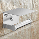 Toilet Paper Holders Space Aluminum Multi-function with Ashtray Phone Holder Bath Accessories