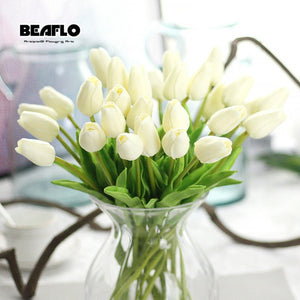 Tulips Artificial Flowers Real Touch PU