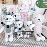 Kawaii Plush Cat Lion Doll Toys