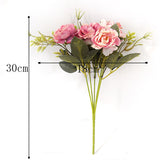 Peony DIY Party Decoration Vintage Silk Artificial Flowers