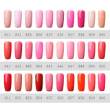 ROSALIND 5ML Painting Gel 142 Colors Gel Nail Polish Top Base Coat  Nail Art Primer
