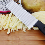 Stainless Steel Blade Fries Knife