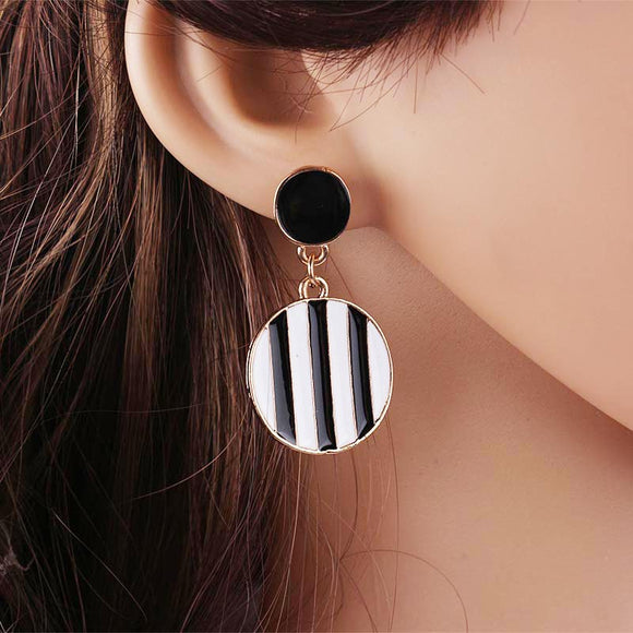 Fashion Statement Geometric Earrings
