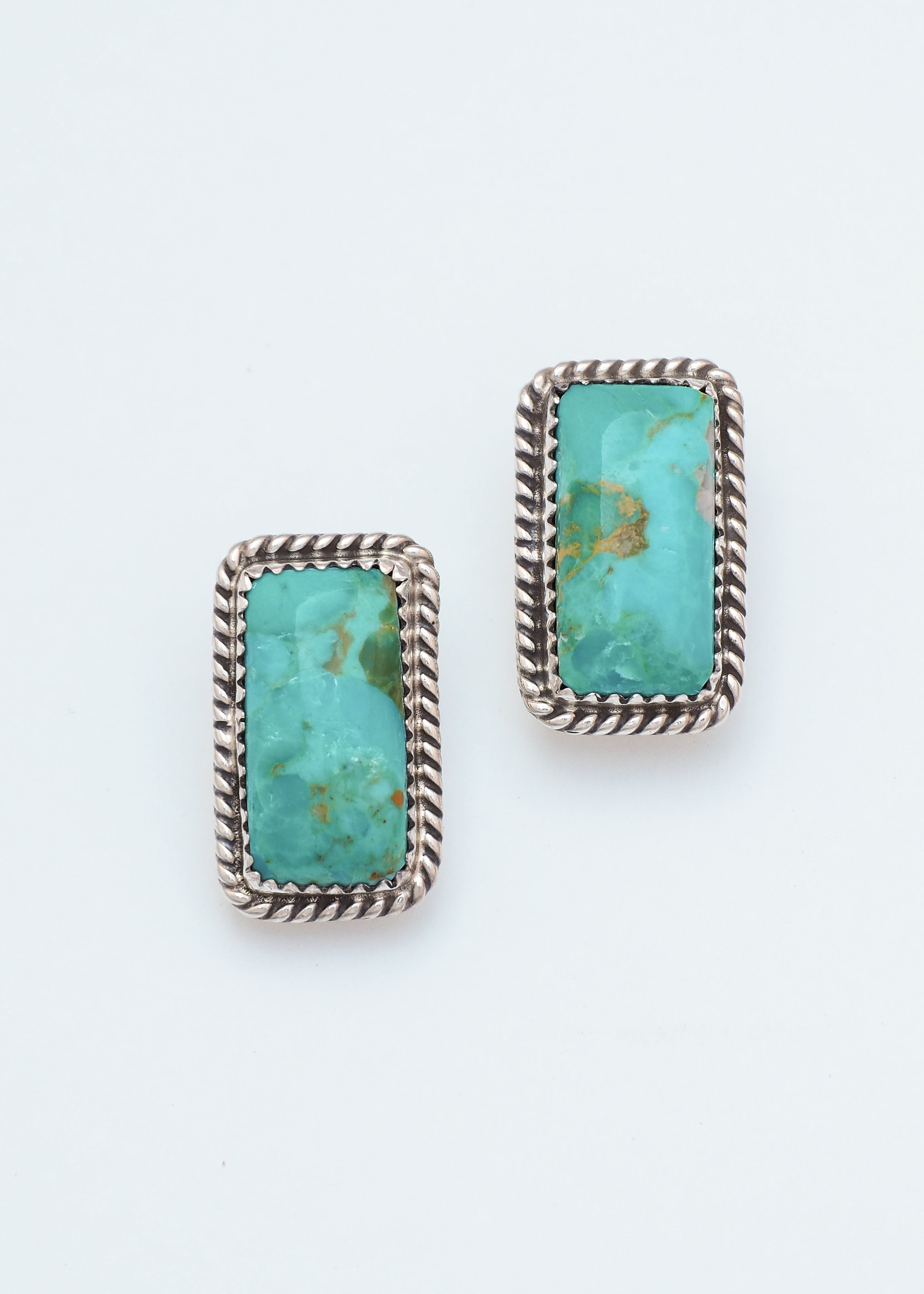 Kingman Turquoise Earrings I