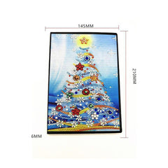 Christmas Tree - Diamond Painting A5 Notebook